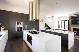 sleek modern kitchen room design in best performance kitchen grey