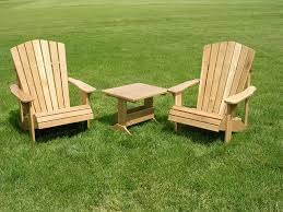 backyard wooden chairs home outdoor decoration