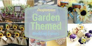 garden themed wedding favors lil sweetpeas garden theme wedding