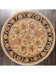 Round Traditional Rugs Buy Round Rugs And Carpets Online At Lowest Price In Usa Rugsville