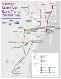 strategic miami area rapid transit plan smart expected to cost