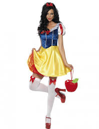 Halloween Costume Womens Snow White Costume Cosplay Fantasia Halloween Costumes