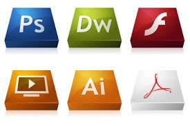 media design adobe cs3 3dcons iconset 23 icons media design
