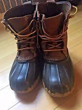 s bean boots size 9 ll bean duck boots womens ebay