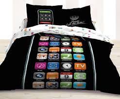 black and white girls bedding cute teen bedding with smart phone menu ideas for boys and girls