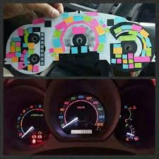 jeep wrangler dashboard lights change your dash lights diy cars pinterest cars and craft