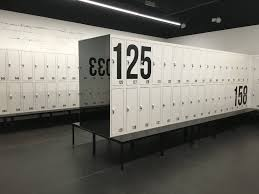 luxury and stylish lockers for changing room and personal