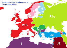 map of europe scandinavia if european borders were by dna instead of ethnicity