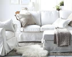 canape canape tissu ikea ektorp 3 places vittaryd blanc lit tissus
