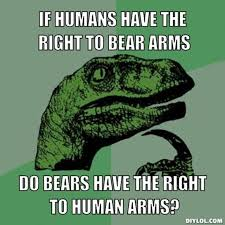 Right To Bear Arms Meme - bear arms elocus kinetics