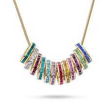 necklace with birthstones for birthstone necklace charms accordion necklace