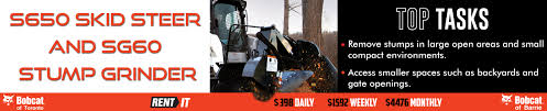 barrie on bobcat dealer offering new u0026 used compact construction
