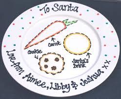 christmas plate decorative christmas plate chritsmas decor