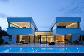 awesome elegant design of the hill villa external design that can
