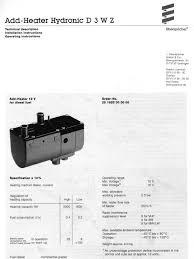 webasto manual thermo top z c e workshop manual hvac combustion