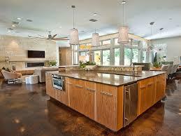kitchen flooring birch laminate tile look open floor plan high