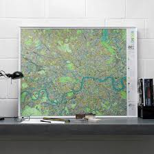 Wall Maps London Wall Map By The Future Mapping Company Notonthehighstreet Com