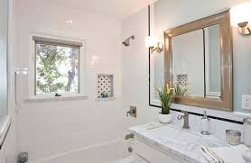 Beautiful Bathrooms Using Subway Tiles Home Design Lover - Modern subway tile bathroom designs