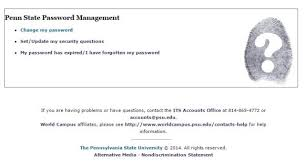 Penn State Its Help Desk Don U0027t Fall For Penn State Password Scams Library News