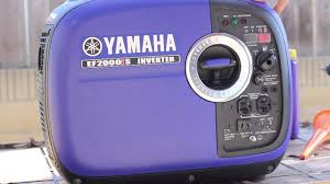yamaha ef 2000is generator break in oil change and review youtube