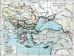 Eastern Europe Map South Eastern Europe Map 1881 A D Full Size