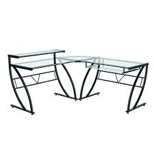 White Glass Desks by Z Line Designs Black Desk Zl1441 1du The Home Depot