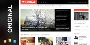 28 responsive html5 magazine website templates