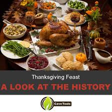 history of thanksgiving feast grill master