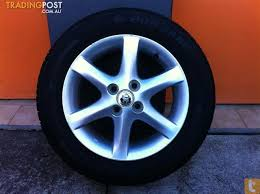 toyota corolla conquest 15 inch genuine alloy wheels for sale in