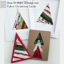 make christmas cards chris dodsley mbcd how to make selvedge fabric christmas cards