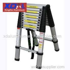 xd a 260 telescoping attic aluminum a frame ladder folding xd a