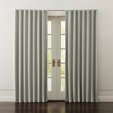 Crate Barrel Curtains Black Out Curtains Scalisi Architects