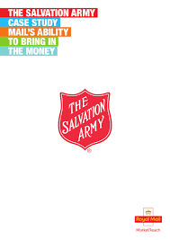 the salvation army case study mail u0027s ability to bring in the money
