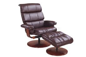 Brown Leather Chair And A Half Design Ideas Furniture Charming Modern Recliner Chair With Brown Color And