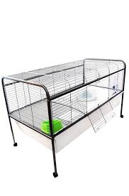 Rabbit Hutch Indoor Large Large Indoor Rabbit Cage On Stand With Wheels Indoor Outdoor