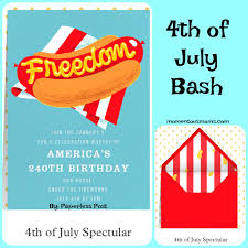 fourth of july birthday invitations 4 of the best summer party ideas featuring paperless post