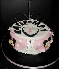 mickey mouse and minnie mouse 1st birthday cake cakecentral com
