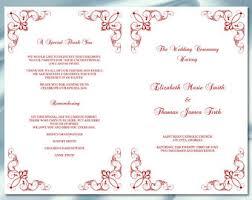 church programs template 26 images of gartner wedding program template editable eucotech