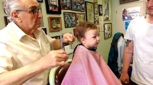 baby u0027s first haircut old fashion claudio u0027s barber shop harlem