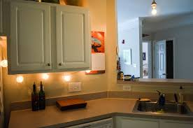 Apartment Lighting Project Battery Operated LED Under Cabinet Light - Kitchen under cabinet led lighting