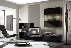 interior inspiration smart media modern room decor with black