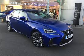 lexus 2017 sports car used 2017 lexus is 300h f sport 4dr cvt auto premium nav leather