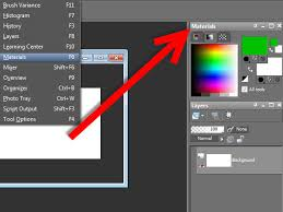 how to find the color palette in paint shop pro x3 5 steps