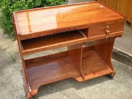 bureau ordinateur bois bureau informatique en bois de destockage grossiste
