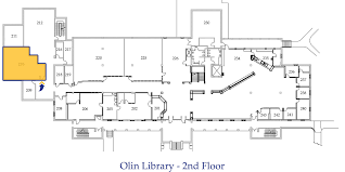Computer Lab Floor Plan Technology Services Olin Library Rollins College Winter