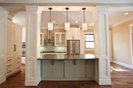 kitchen island columns houzz kitchen islands with columns contemporary eclectic modern