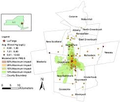 Map Of Northeast Us Ijerph Free Full Text Assessing Metal Exposures In A Community