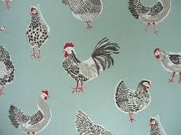 Bird Print Curtain Fabric Clarke U0026 Clarke Rooster Duck Egg Cotton Curtain Fabric