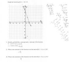 Inverse Functions Worksheet Answers Graphing A Linear Function Students Are Asked To Graph A Linear