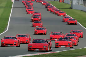 slammed ferrari f40 ferrari f40 celebrates 25th birthday at silverstone forcegt com